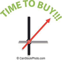 αγοράζω , ρολόι , εδάφιο , απομονωμένος , φόντο. , ώρα , άσπρο