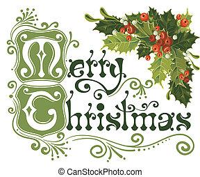 αγριοκέρασο διακοπές χριστουγέννων , κάρτα