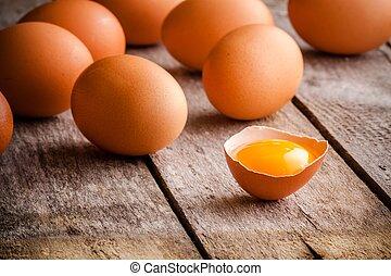 αγρόκτημα άβγαλτος , αυγά