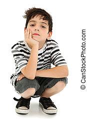 αγόρι , έκφραση , ακινησία , αγρυπνία