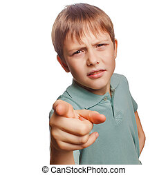 αγόρι , δικός του , οθόνη , κακό , δάκτυλο , θυμωμένος , αποδεικνύω