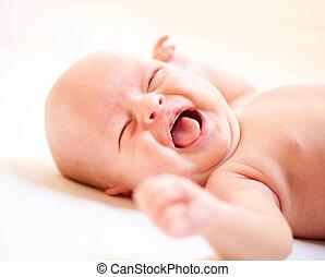 αγόρι , κλαίω , νεογέννητος , αλαλαγμός βρέφος , baby.