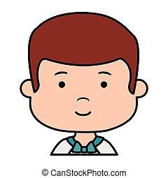 αγόρι , μικρός , πρώτα , επαφή , χαρακτήρας