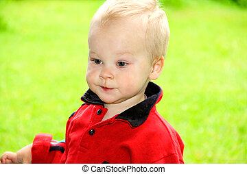αγόρι , μικρός , nature., θολός , αγίνωτος φόντο