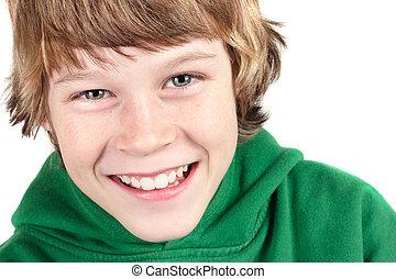 αγόρι , χαμογελαστά