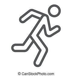 αγώνισμα , γραμμικός , φόντο. , δρομέας , πρότυπο , σήμα , τρέξιμο , μικροβιοφορέας , graphics , εικόνα , γραμμή , κάνω σιγανό τροχάδην , άσπρο , άντραs