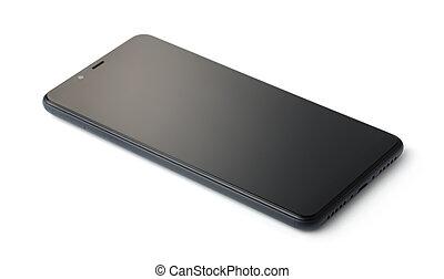 αδειάζω , smartphone, μακριά , μοντέρνος , μαύρο
