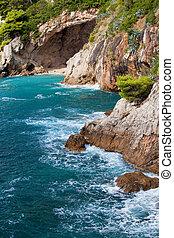 αδριατική , ακτογραμμή , θάλασσα