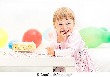 αδύναμος δεσποινάριο , γιορτάζω , 2 γενέθλια