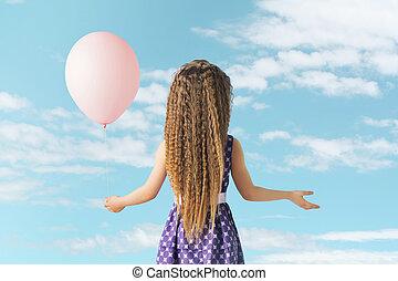αδύναμος δεσποινάριο , balloon
