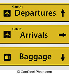 αεροδρόμιο , αναχωρώ