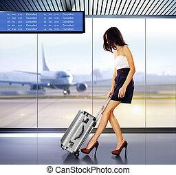 αεροδρόμιο , επιβάτης