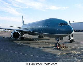 αεροπλάνο , αεροδρόμιο