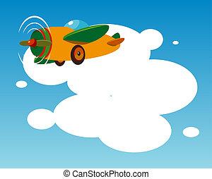 αεροπλάνο , φόντο