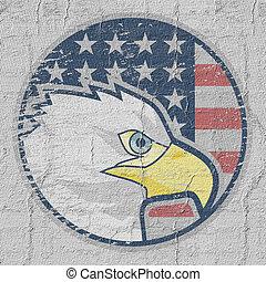 αετός , αμερικάνικος απεικόνιση