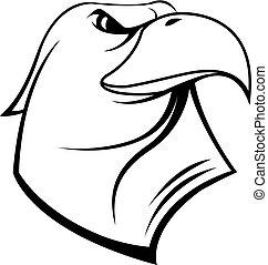 αετός , κεφάλι , σύμβολο