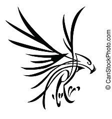 αετός , τατουάζ