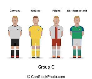 αθλητηκή πρωτεία , ποδόσφαιρο , kit., γαλλία , ηθοποιός , 2016