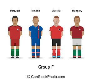 αθλητηκή πρωτεία , σύνολο , φά , πορτογαλία , ποδόσφαιρο , - , kit., γαλλία , ηθοποιός , ισλανδία , 2016., ουγγαρία , αυστρία