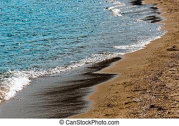 αιγιαλός , tanquil, σκηνή , θάλασσα