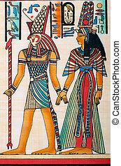 αιγύπτιος , γενική ιδέα , πάπυρος , ιστορία