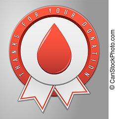 αιμοδοσία , σήμα