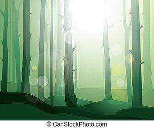 αινιγματικός , forest., μικροβιοφορέας , εικόνα