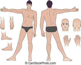 ακάθιστος , γυμνός , άντραs