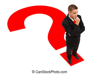 ακάθιστος , επιχειρηματίας , ερωτηματικό