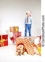 ακάθιστος , μικρός , santa , δώρο