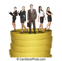 ακάθιστος , σύνολο , αρμοδιότητα ακόλουθοι , κέρματα , θημωνιά