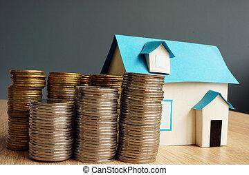 ακίνητη περιουσία , value., αξιομίμητος από εμπορικός οίκος , και , θημωνιά , από , επινοώ.