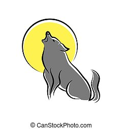 ακραίος , λύκος , σύμβολο