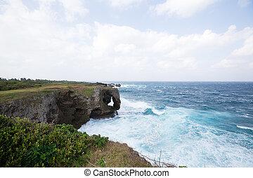 ακρωτήριο , manzamo, okinawa