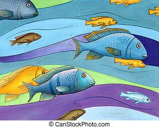 αλιευτικός , γραφικός