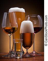 αλκοολικός πίνω