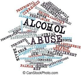 αλκοόλ κακομεταχειρίζομαι