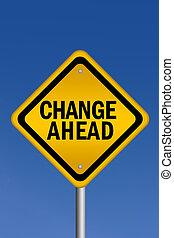 αλλαγή , εμπρός