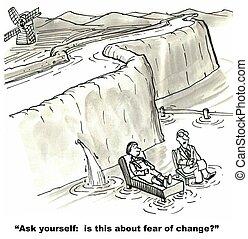 αλλαγή , φόβος