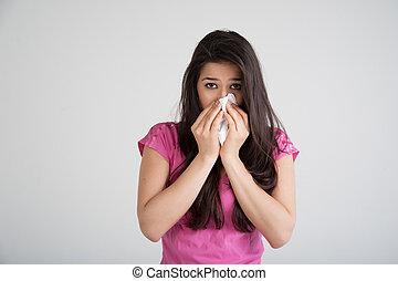 αλλεργία , κρύο , γρίπη