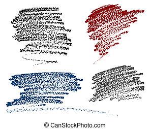 αλλοίωση χρωματισμού , κιμωλία