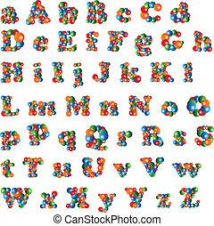αλφάβητο , αφρίζω