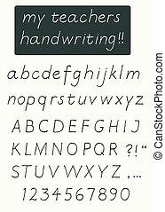 αλφάβητο , γραφικός χαρακτήρας