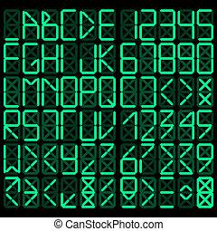αλφάβητο , ψηφιακός