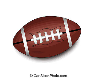 αμερικάνικος μπάλα ποδοσφαίρου μπάλα