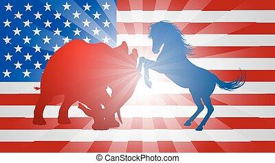 αμερικανός , γενική ιδέα , εκλογή