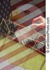 αμερικανός , εκλογή , γενική ιδέα