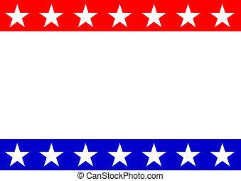 αμερικανός , κορνίζα