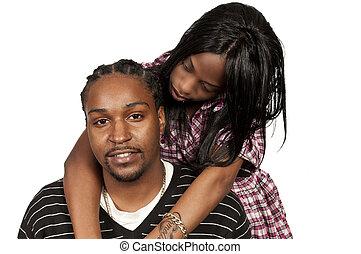 αμερικανός , μαύρο ανδρόγυνο , αφρικανός