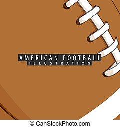 αμερικανός , μπάλα , φόντο , ποδόσφαιρο